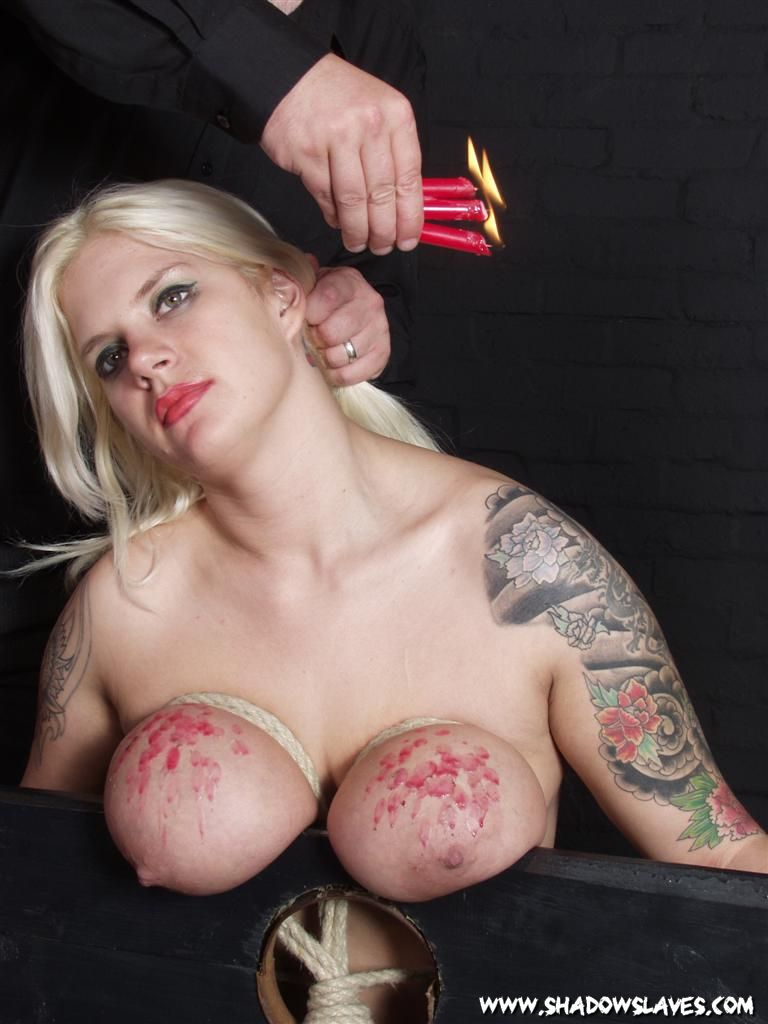 Tits breast bondage