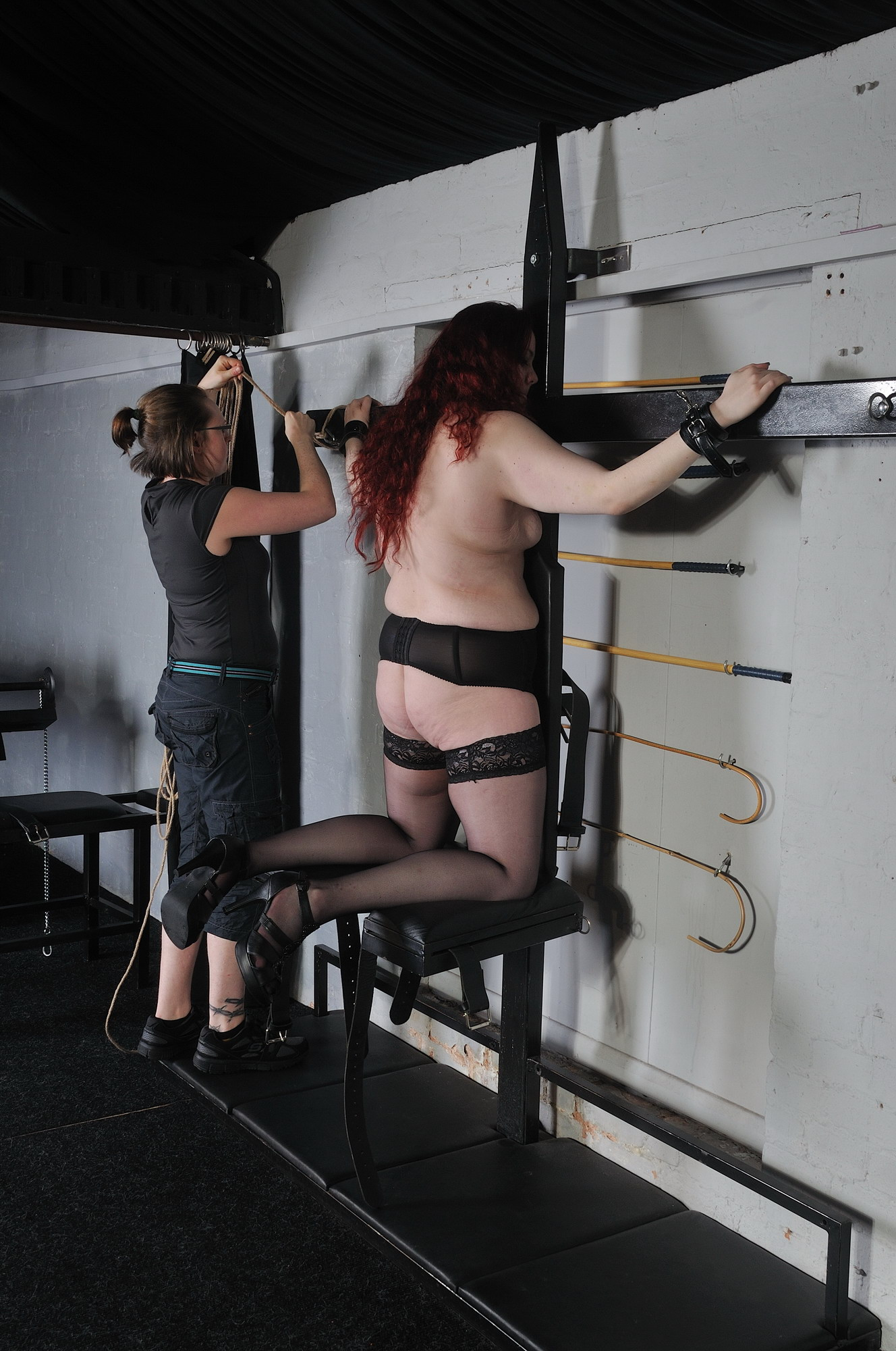 Alluring free bdsm whipping videos the