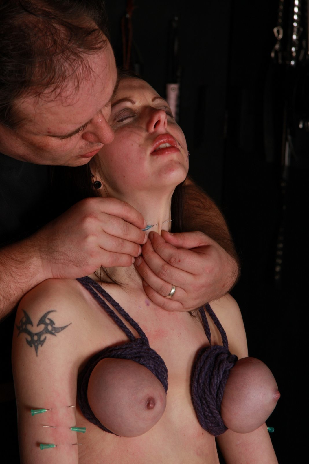 Day, purpose Bdsm tortured tits needles