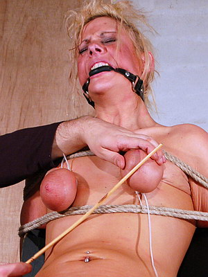 Two slavegirls electro shock tortured and enduring extremes 8