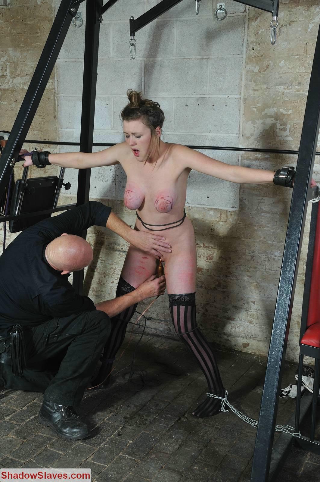 bondage torture tit photo free