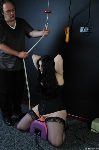 slavegirl being tied