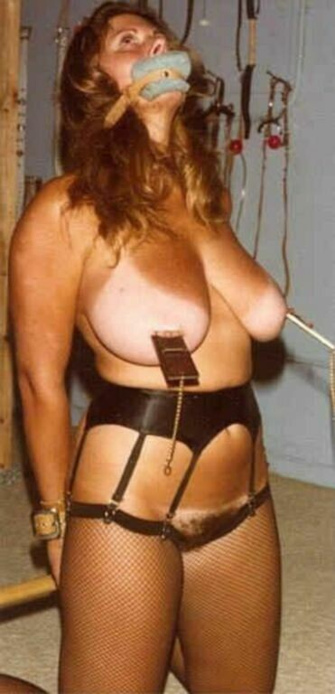 Vintage tied up tits were visited