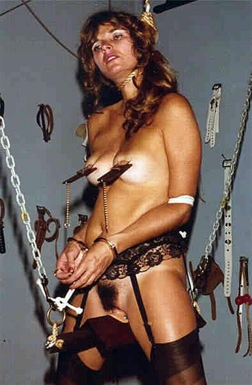 Have Vintage retro bondage girls