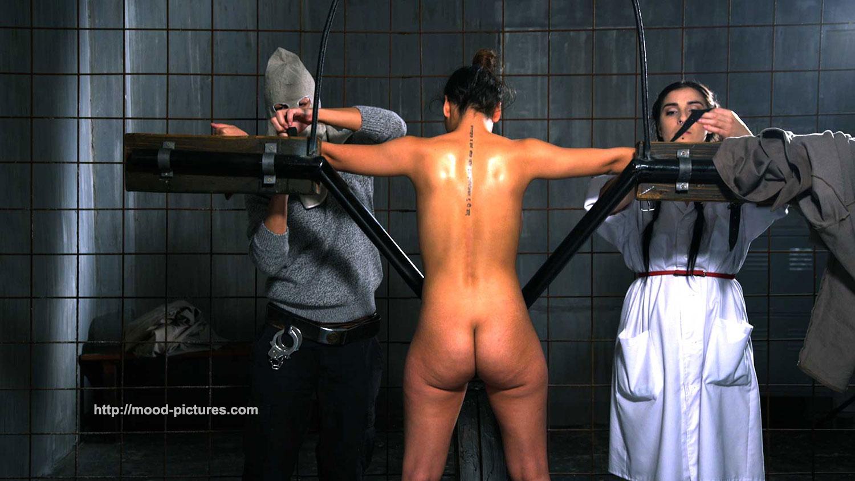 Rough spanking crying bondage fucked nipple