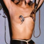 classic fetish magazine Bynum featuring genuine amateur slave girls in interesting bondage rigging setups, tit tortures and a wide range of punishments