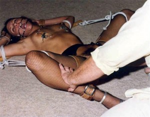 Classic Nipple Torture - Vintage BDSM Photos