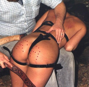 Vintage Spanking - Slave Girl Ra