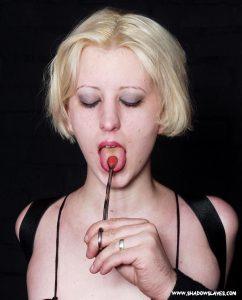 Slave Cherry Torn in BDSM