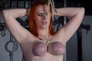 Chloe Davis Breast Bondage