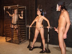 Dungeon Slaves Blowjob